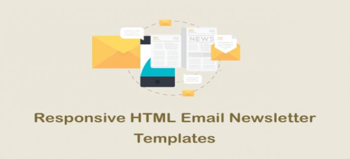 60 قالب HTML ایمیل پاسخگو رایگان